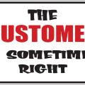 Customer Sign