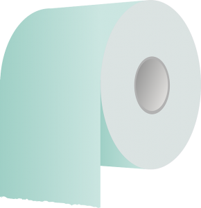 Do you fold your toilet paper end? That's because you aren't fancy. Or rich.
